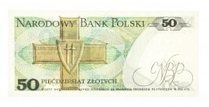 Polska, PRL 1944 - 1989, 50 ZŁOTYCH 1.12.1988, seria GB.