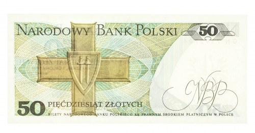 Polska, PRL 1944 - 1989, 50 ZŁOTYCH 1.12.1988, seria GN.