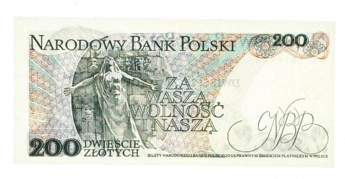 Polska, PRL 1944 - 1989, 200 ZŁOTYCH 1.12.1988, seria EE.