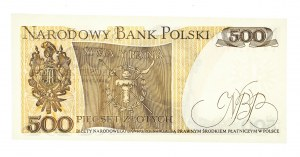 Polska, PRL 1944 - 1989, 500 ZŁOTYCH 1.06.1982, seria EA.