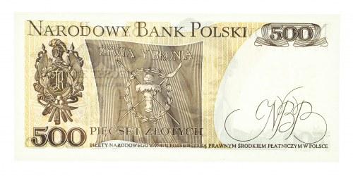 Polska, PRL 1944 - 1989, 500 ZŁOTYCH 1.06.1982, seria FU.