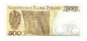 Polska, PRL 1944 - 1989, 500 ZŁOTYCH 1.06.1982, seria GL.