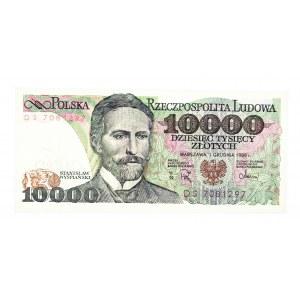 Polska, PRL 1944 - 1989, 10000 ZŁOTYCH 1.12.1988, seria DS.