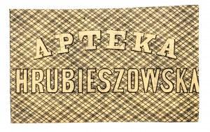 Polska, pieniądz prywatny - Hrubieszów - Apteka Hrubieszowska, 15 kopiejek srebrem 1861.