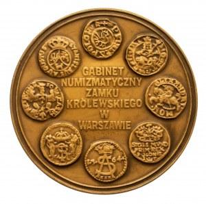Polska, medal - Gabinet Numizmatyczny Zamku Królewskiego w Warszawie, 1985