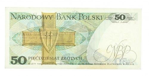 Polska, PRL 1944 - 1989, 50 ZŁOTYCH 9.05.1975, seria R.