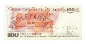 Polska, PRL 1944 - 1989, 100 ZŁOTYCH 17.05.1976, seria AK.