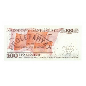 Polska, PRL 1944 - 1989, 100 ZŁOTYCH 17.05.1976, seria BC.