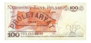 Polska, PRL 1944 - 1989, 100 ZŁOTYCH 17.05.1976, seria BE.
