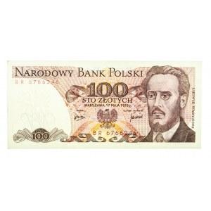 Polska, PRL 1944 - 1989, 100 ZŁOTYCH 17.05.1976, seria BR.