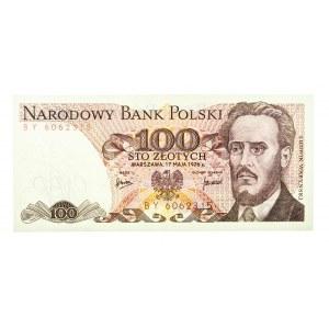 Polska, PRL 1944 - 1989, 100 ZŁOTYCH 17.05.1976, seria BY.