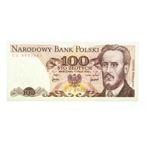 Polska, PRL 1944 - 1989, 100 ZŁOTYCH 17.05.1976, seria CU.