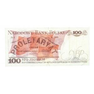 Polska, PRL 1944 - 1989, 100 ZŁOTYCH 17.05.1976, seria CW.