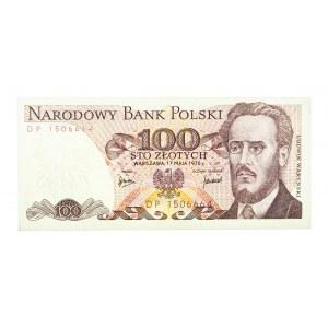 Polska, PRL 1944 - 1989, 100 ZŁOTYCH 17.05.1976, seria DP.