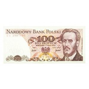 Polska, PRL 1944 - 1989, 100 ZŁOTYCH 17.05.1976, seria DS.