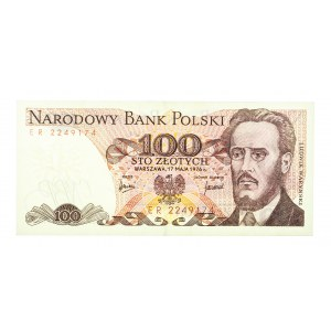 Polska, PRL 1944 - 1989, 100 ZŁOTYCH 17.05.1976, seria ER.