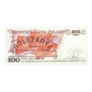 Polska, PRL 1944 - 1989, 100 ZŁOTYCH 1.06.1979, seria FE.
