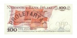 Polska, PRL 1944 - 1989, 100 ZŁOTYCH 1.06.1979, seria FH.
