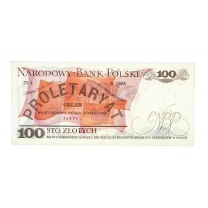 Polska, PRL 1944 - 1989, 100 ZŁOTYCH 1.06.1979, seria GD.