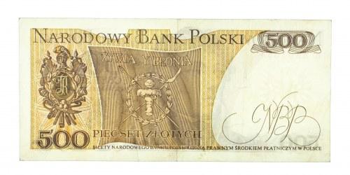 Polska, PRL 1944 - 1989, 500 ZŁOTYCH 16.12.1974, seria B.