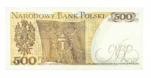 Polska, PRL 1944 - 1989, 500 ZŁOTYCH 16.12.1974, seria H.