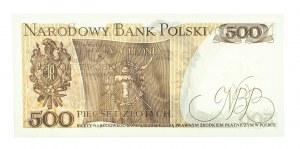 Polska, PRL 1944 - 1989, 500 ZŁOTYCH 15.06.1976, seria AE.