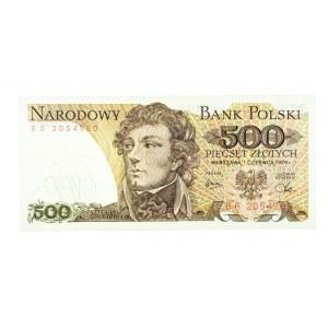 Polska, PRL 1944 - 1989, 500 ZŁOTYCH 1.06.1979, seria BB.