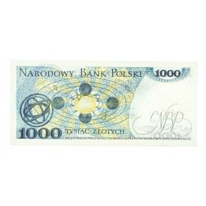 Polska, PRL 1944 - 1989, 1000 ZŁOTYCH 2.07.1975, seria AF.