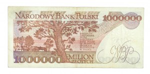 Polska, Rzeczpospolita od 1989 r., 1000000 ZŁOTYCH 15.02.1991, seria C.