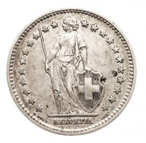 Szwajcaria, 2 franki 1886 B, Berno