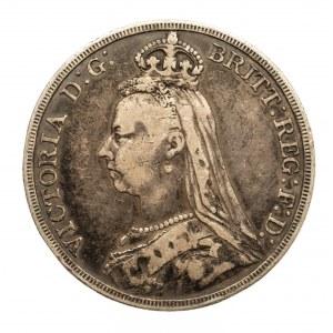 Wielka Brytania, Wiktoria 1837-1901, korona 1887