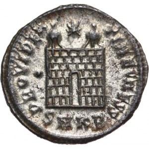 Cesarstwo Rzymskie, Konstancjusz II 324-361 - jako cezar 316-337, follis 325-326, Cyzicus
