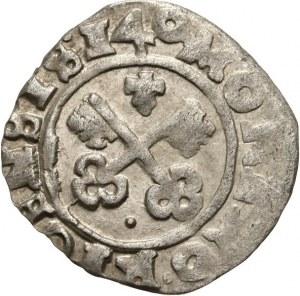 Zakon Kawalerów Mieczowych, Hermann von Brüggenei-Hasenkamp 1535-1549, szeląg 1540, Ryga