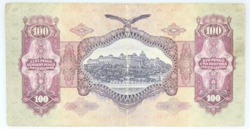 Węgry, Magyar Nemzeti Bank, 100 pengo 1.07.1930, Budapeszt.
