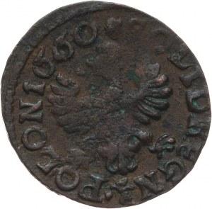 Polska, Jan II Kazimierz Waza 1649-1668, szeląg miedziany (boratynka) 1660 TLB, Ujazdów