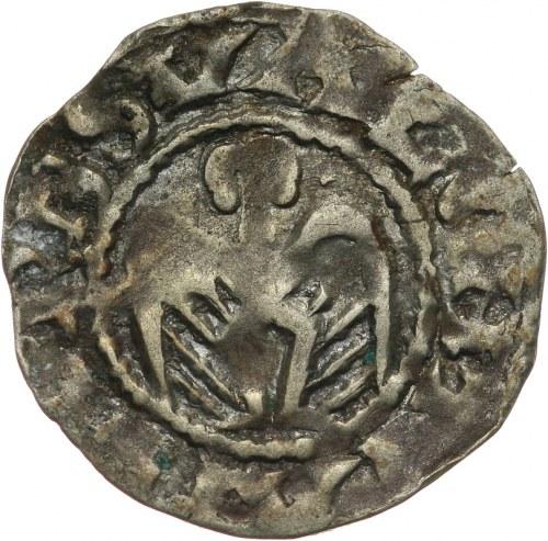 Francja, Valence - biskupstwo, denar XII w., Valence