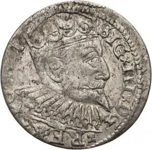 Polska, Zygmunt III Waza 1587-1632, trojak 1598, Ryga