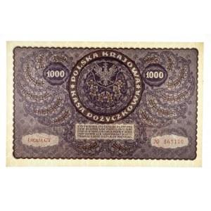 Polska, II Rzeczpospolita 1919 - 1939, 1000 MAREK POLSKICH, 23.08.1919, I SERJA CT.