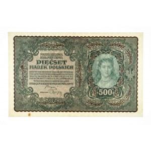 Polska, II Rzeczpospolita 1919 - 1939, 500 MAREK POLSKICH, 23.08.1919, I Serja BC.