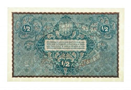 Polska, II Rzeczpospolita 1919 - 1939, PÓŁ MARKI POLSKIEJ, 7.02.1920.