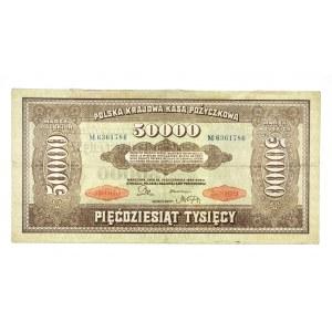Polska, II Rzeczpospolita 1919 - 1939, 50000 MAREK POLSKICH, 10.10.1922, Seria M.