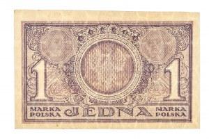 Polska, II Rzeczpospolita 1919 - 1939, JEDNA MARKA POLSKA, 7.05.1919, Seria PI.