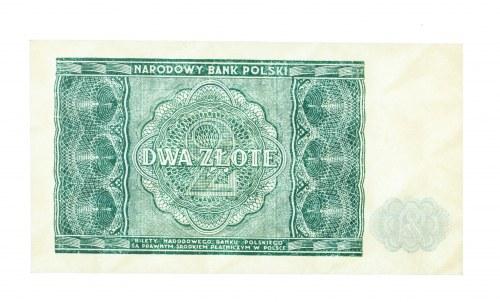 Polska, PRL 1944 - 1989, 2 ZŁOTE 15.05.1946.
