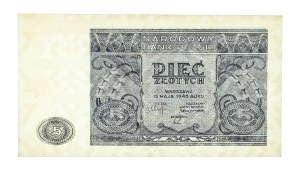 Polska, PRL 1944 - 1989, 5 ZŁOTYCH 15.05.1946.