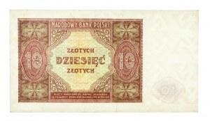 Polska, PRL 1944 - 1989, 10 ZŁOTYCH 15.05.1946.