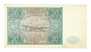 Polska, PRL 1944 - 1989, 20 ZŁOTYCH 15.05.1946, seria E.