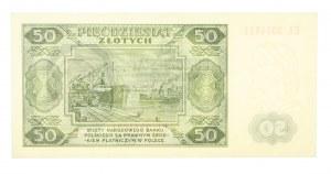 Polska, PRL 1944 - 1989, 50 ZŁOTYCH 1.07.1948, seria EL (1)