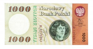 Polska, PRL 1944 - 1989, 1000 ZŁOTYCH 29.10.1965, seria R.