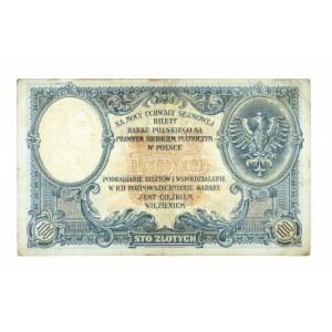 Polska, II Rzeczpospolita 1919 - 1939, 100 ZŁOTYCH, 28.02.1919, seria S.B.