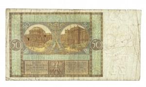 Polska, II Rzeczpospolita 1919 - 1939, 50 ZŁOTYCH, 28.08.1925, seria AH.